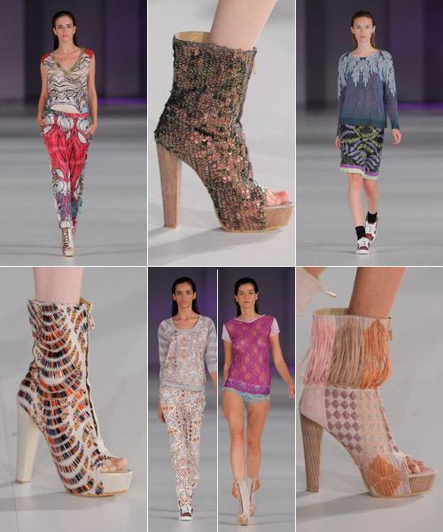 Diseños-de-ropa-y-calzado-de-Custo-Barcelona,-La-vida-al-bies