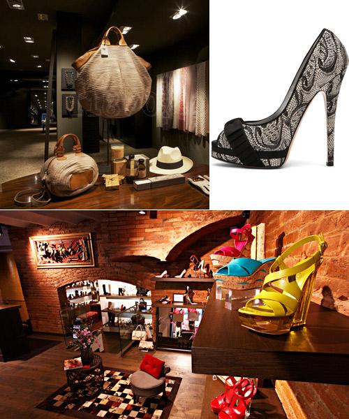 Tienda-Brussossa,-zapato-de-Casadei-y-tienda-Cherry-Heel.