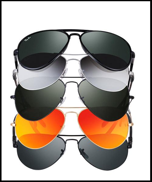 gafas ray ban de colores