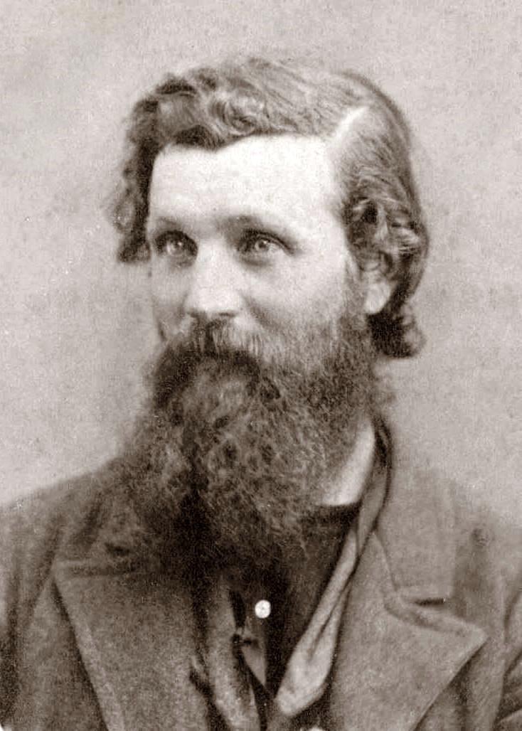 [John Muir a los 34 años. Foto: H. W. Bradley - Wkimedia Commons]