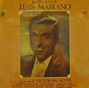 Vic Balaguer Luis Mariano