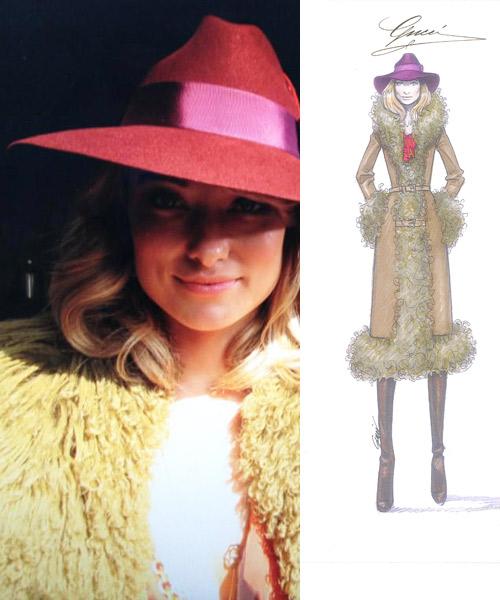 Olivia-Wilde-como-Suzy-Miller-con-ropa-de-Gucci