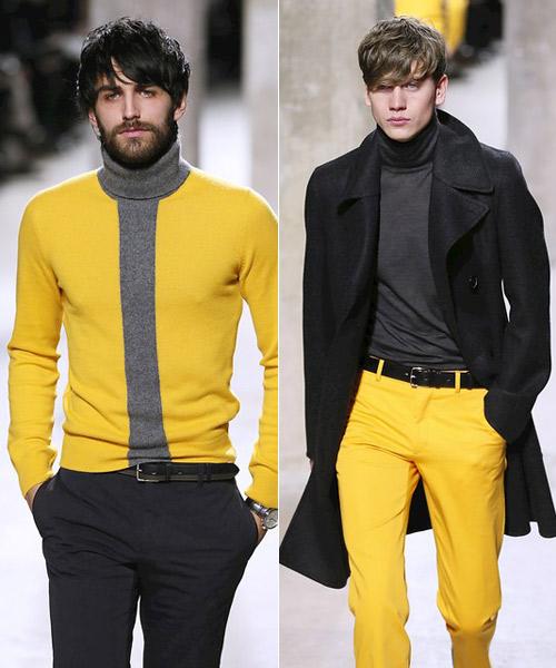 Pantalones Pantalones Hombre Para Amarillos Hombre Para Amarillos Pantalones rI0rZT