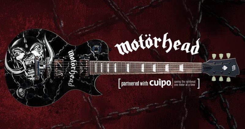 Guitarra Motorhead