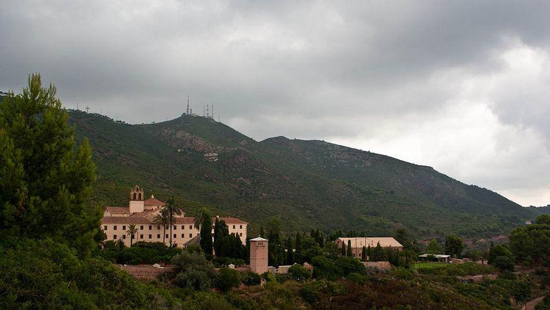 Desierto monasterio