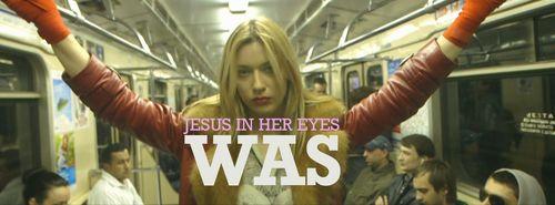 JESUS IN HER EYES we are standard