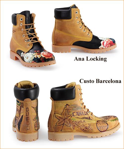 Botas-customizadas-por-Ana-Locking-y-Custo-Barcelona