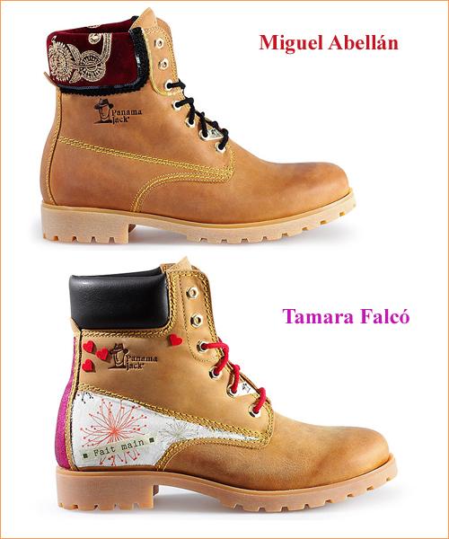 Botas-customizadas-por-Miguel-Abellán-y-Tamara-Falcó