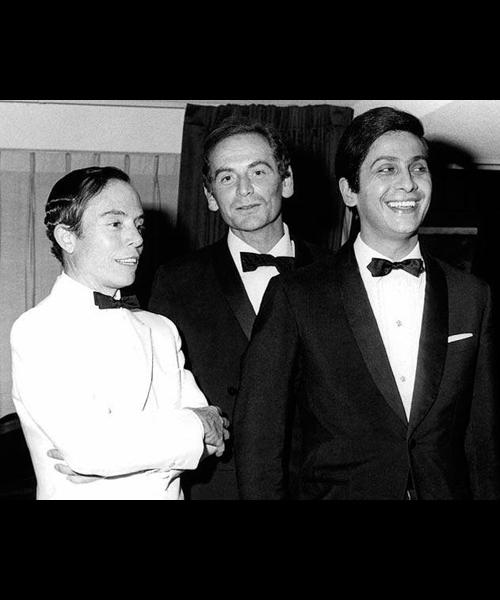 Pertegaz,-Pierre-Cardin-y-Valentino-en-1960