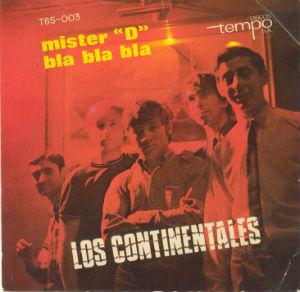 1966 Los Continentales caràtula disc Tempo BLOG