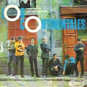 1967 Los Continentales caràtula disc Sonoplay