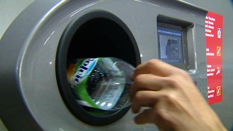 En los supermecados alemanes hay máquinas para devolver los envases máquinas en