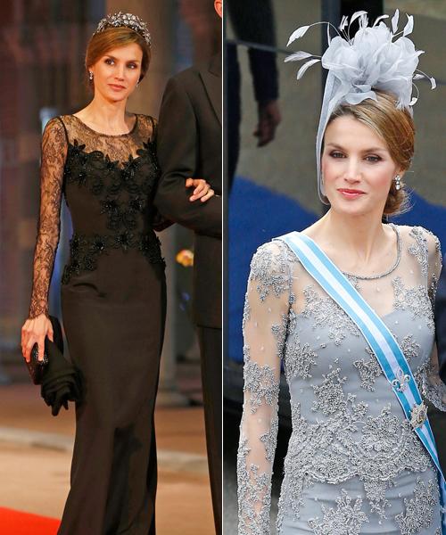 Vestidos de noche de dona letizia