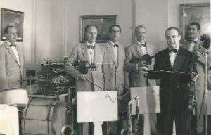 1949 Adolf Ventas i el seu conjunt a GibraltarBLOG
