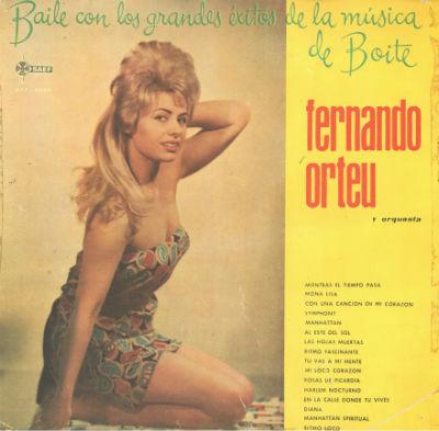 1960 Fernando Orteu y su orquesta BLOG