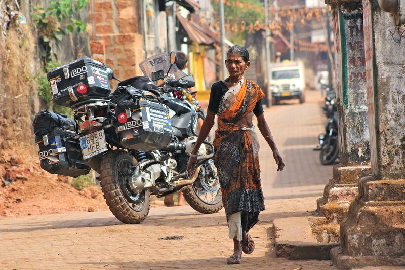 Moto india vieja