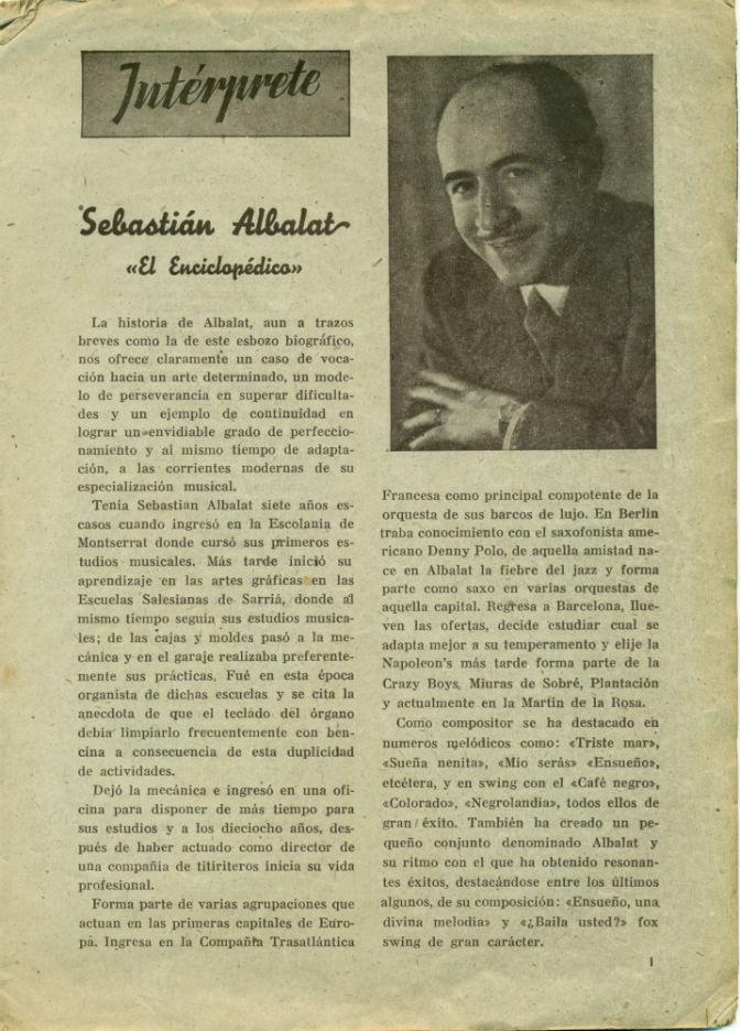 Albalat biografia 40's BLOG