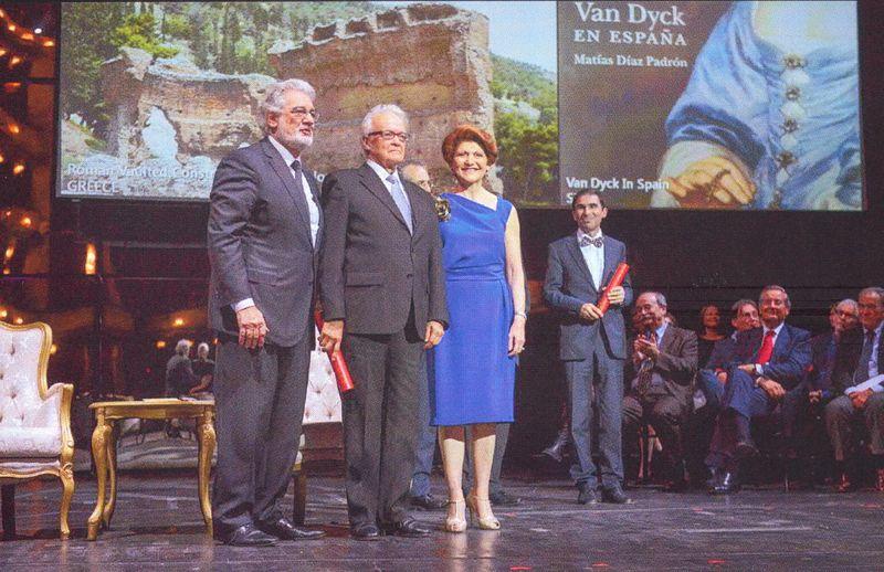 Matías recibe el premio Europa Nostra