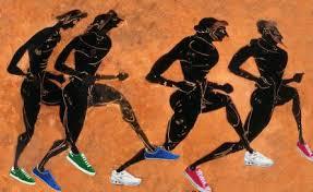 Antiguos deportistas muy modernos