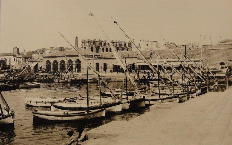 Antiguo puerto de Cartagena