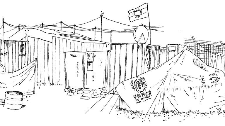 Refugee-Republic-UNHCR-tent-Jan-Rothuizen