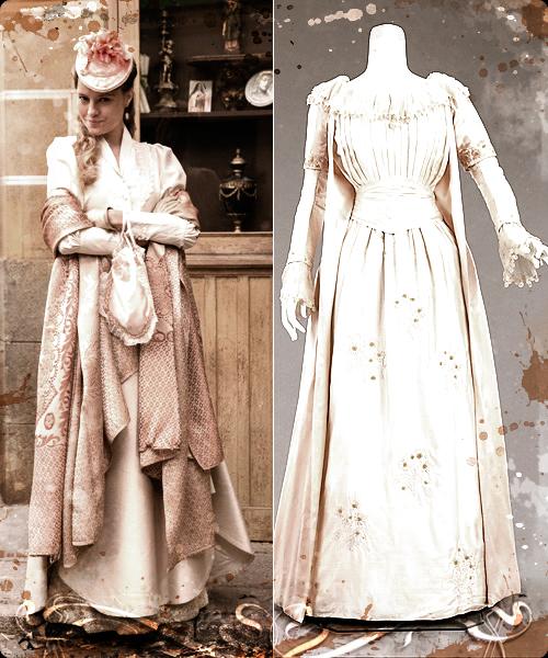 Esmeralda Moya y diseño de 1895 del MET