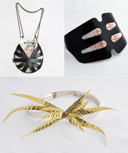 Algunas-de-las-piezas-de-Assaad-Awad-para-la-exposición-de-Balenciaga