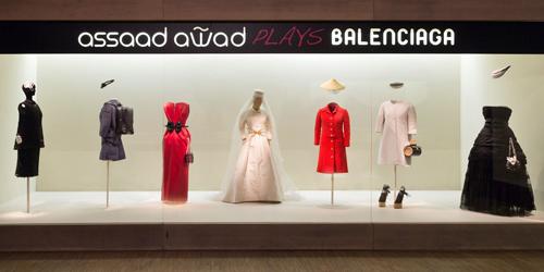 Primera-parte-de-la-exposición-de-Assaad-Awad-plays-Balenciaga