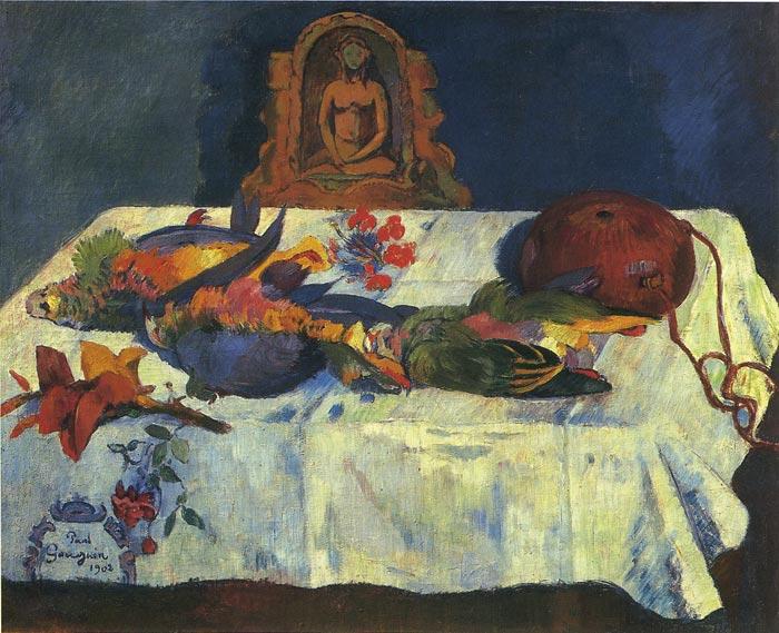 Paul_Gauguin_Bodegon con loros
