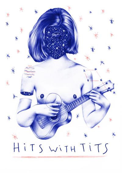Hits With Tits por Nuria Riaza