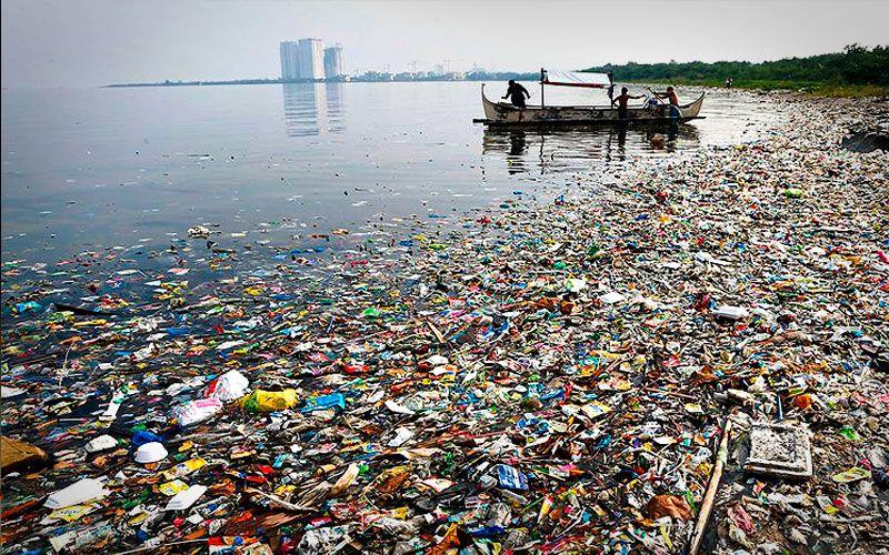 Oceanos contaminados