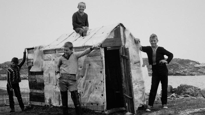 Los niños de la isla de Fogo