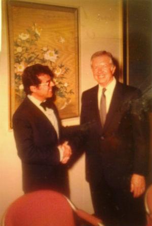 Jimmy Carter i Peyrón blog