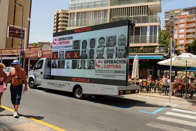 Camión-anuncio en Andalucia 2 Foto NCA