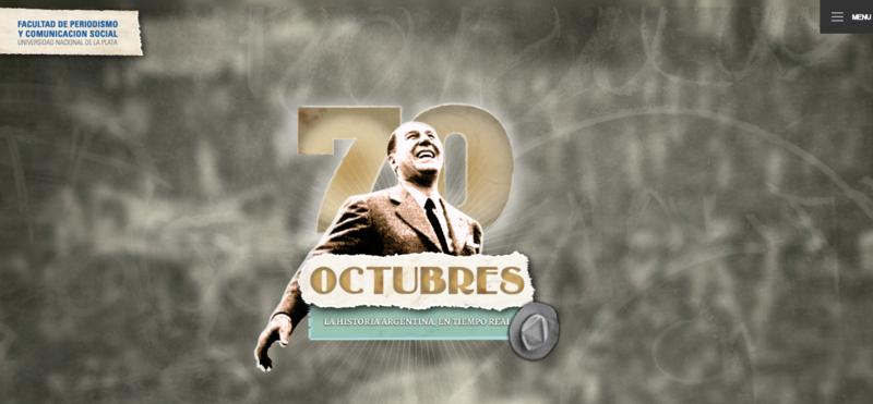 70 Octubres   Facultad de Periodismo y Comunicación Social