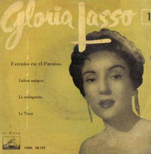 Gloria Lasso Extraños en el paraiso