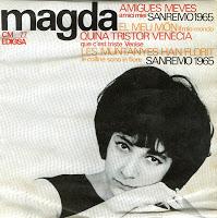 Magda Portada San Remo 1965