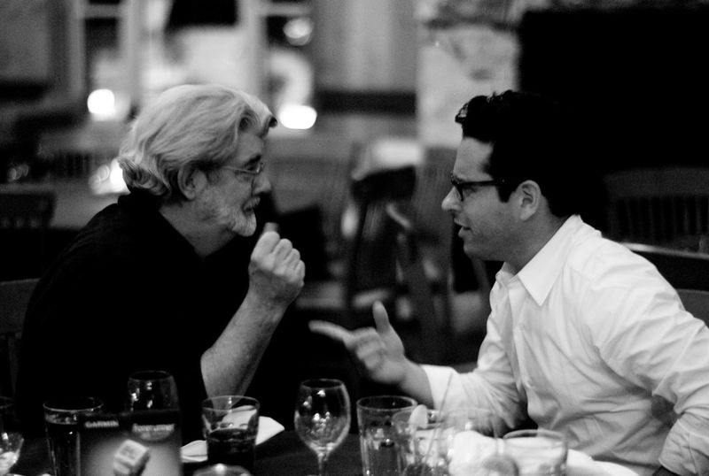 208 JJ Abrams and George Lucas