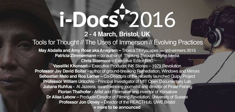 I-Docs 2016 speakers