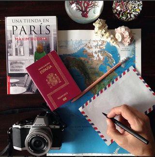 Antes de salir hacia Paris