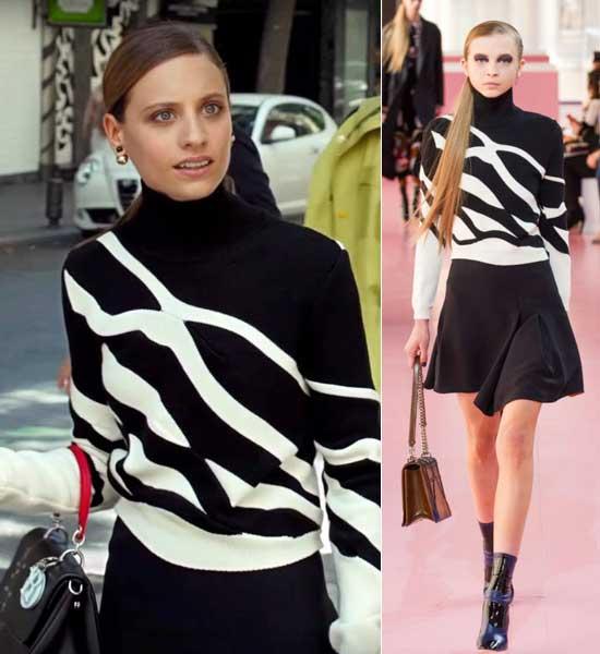 Michelle-Jenner-con-look-de-Dior.