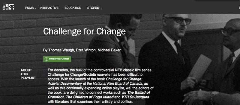 Challenge for change