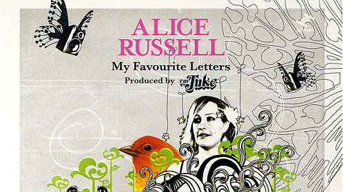Alice Russell - My favouritte lettersOk