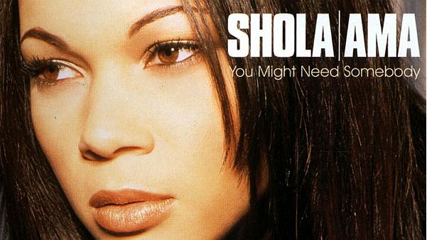 Shola Ama - You Might Need SomebodyOk