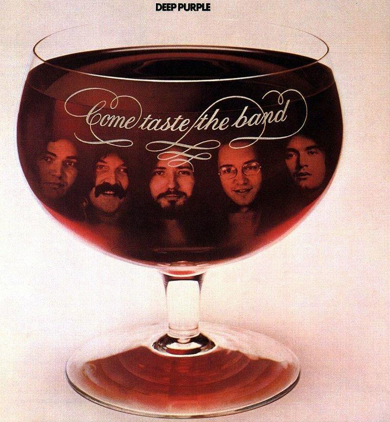 Deep Purple  Lp-Come Taste The BandOk