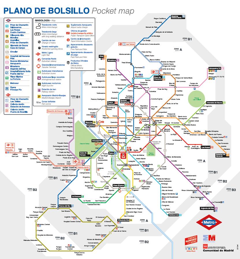 Viajando por el metro de Madrid  Viaje a taca