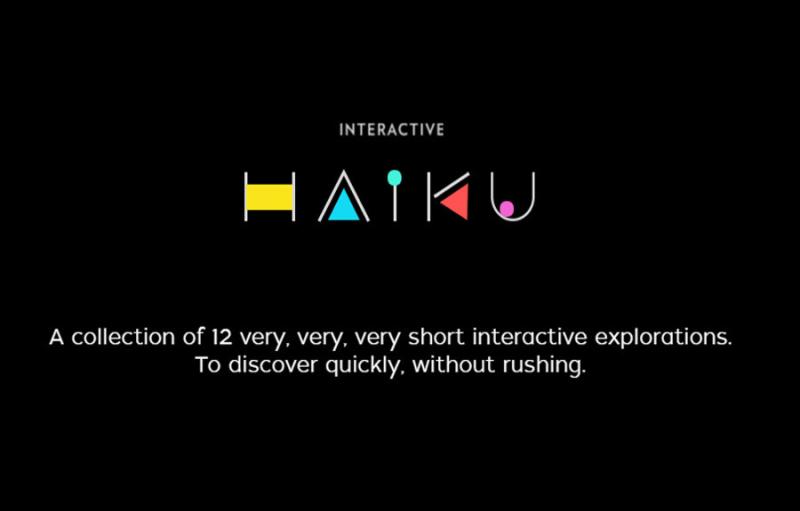 Interactive Haiku 2