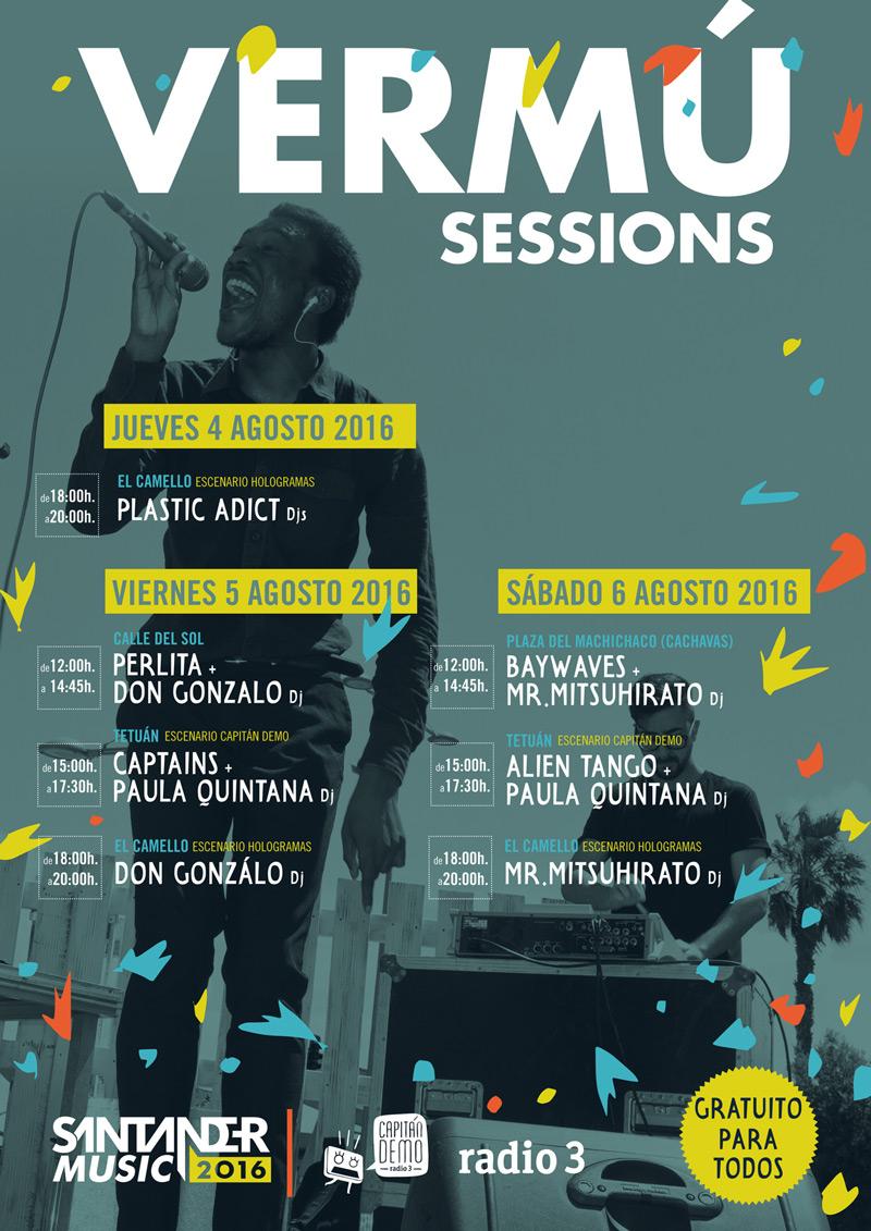 Vermu Sessions en Santander Music 2016