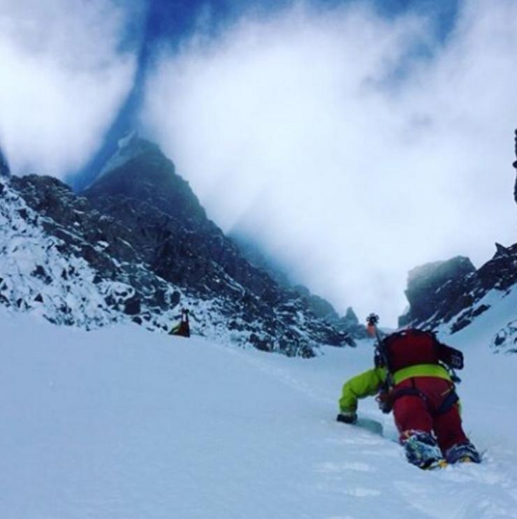 Escalada en Instagram Mont Blanc
