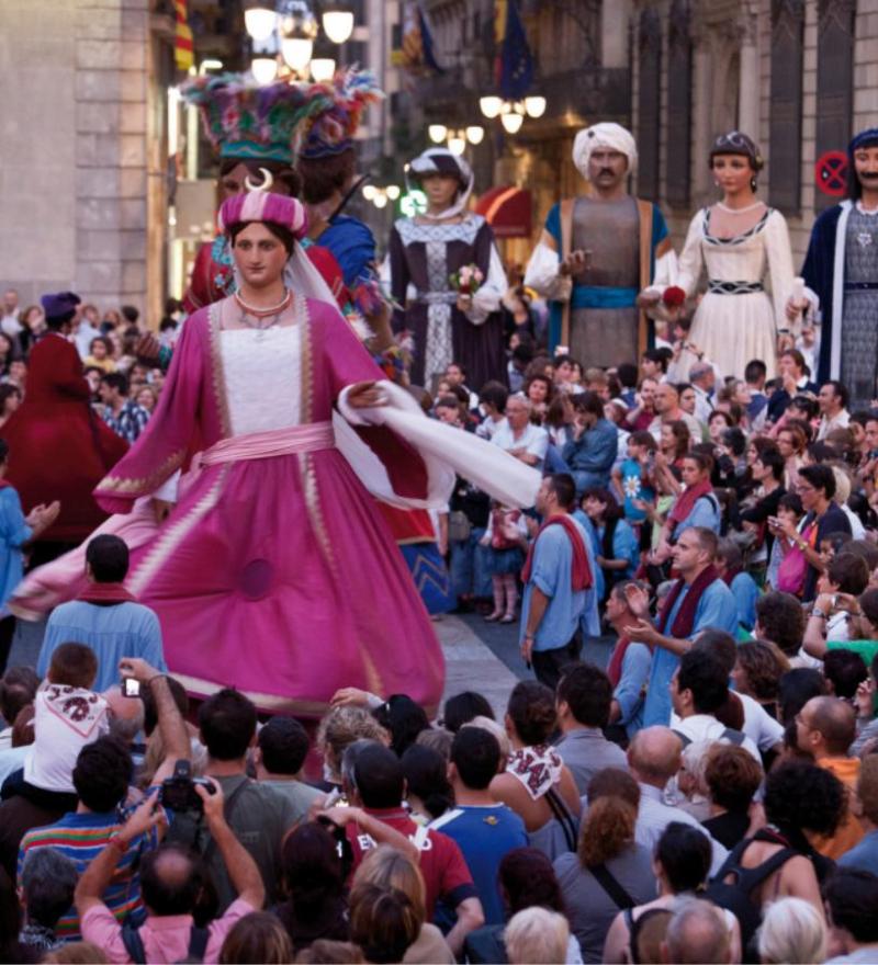 Fiesta gigantes Barna_Foto Aj. de Barcelona